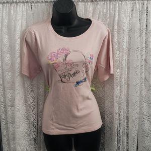 Pink Paris T Shirt